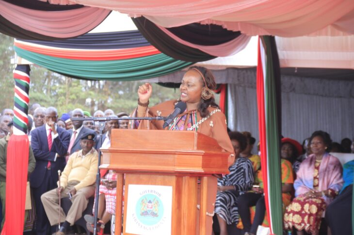 Anne Waiguru says Mt Kenya was never behind BBI bill