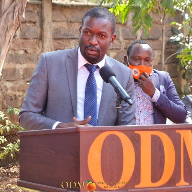 The ODM party has said it will not give direct presidential ticket to anyone including its party leader Raila Odinga in the 2022 General Election. Photo: ODM/Facebook.
