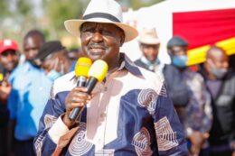 Raila Odinga on BBI campaign trail