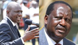 Wiliam Ruto, Raila Odinga