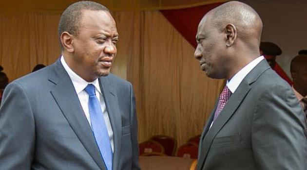 Uhuru and Ruto fallout?