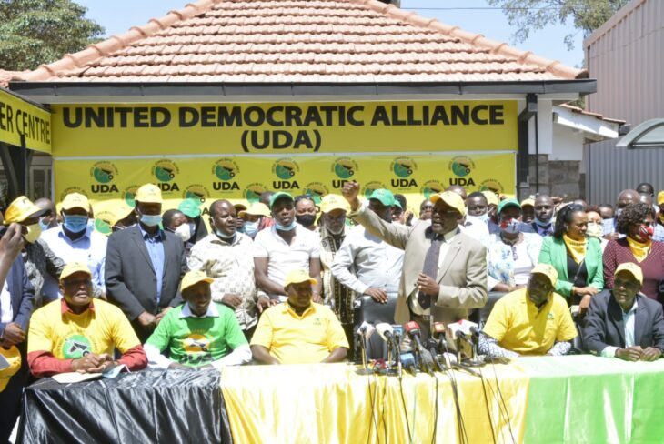 The battle over UDA ownership comes at a time when the party has made strides in terms of having representatives in parliament and growing membership.