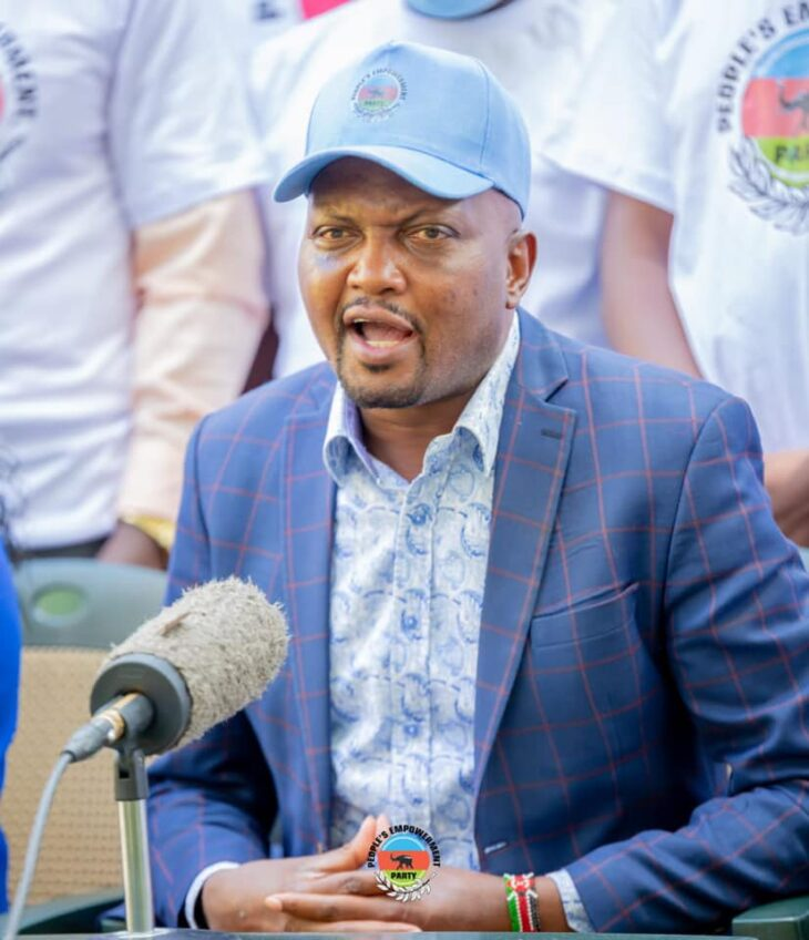 Gatundu South MP Moses Kuria has said he wil not be defending his Gatundu South parliamentaery seat nor vie for any seat in the 2022 General Electio. Photo: Kuria/Facebook.