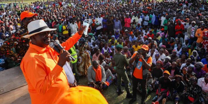 Raila's party ODM  announces waiver of membership fee