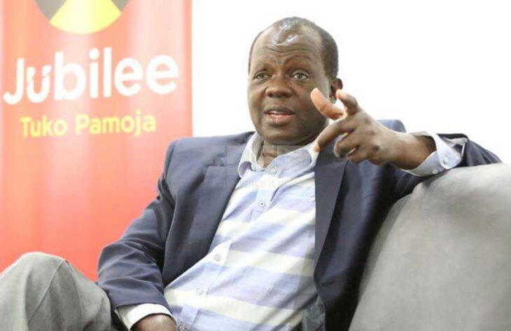 Jubilee Party Secretary-General Raphael Tuju asks Ruto loyalits to quite