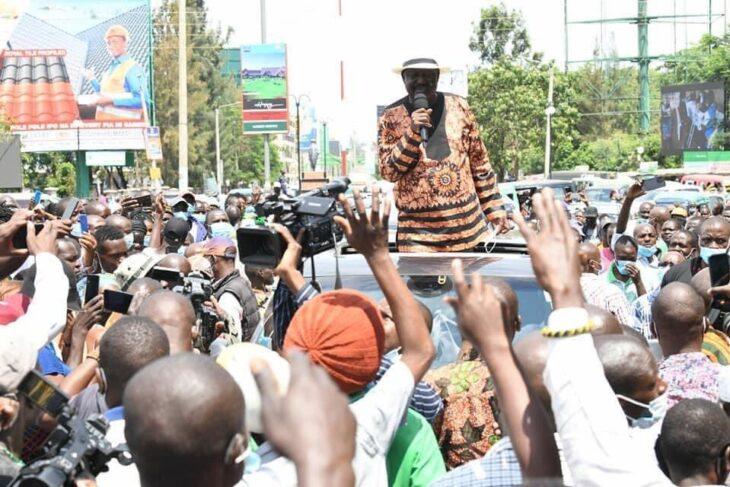 Deputy William Ruto and Raila Odinga lock horns over corruption claims