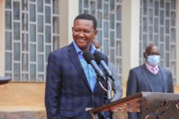 Alfred Mutua wife, first wife, age and children