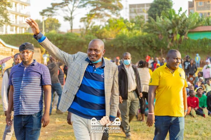 The number of registered voters is estimated to hit 7 million after the final lap of mass registration in December 2021. The Kikuyu community believes the 2022 presidential election will be won or lost there, Photo: Moses Kuria/Facebook.