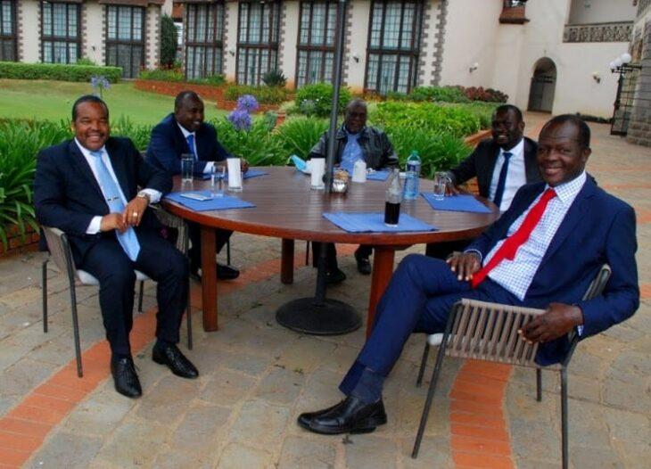 The Jubilee-ODM merger talks have already gained momentum, as the two parties aim at fronting one candidate in the oncoming presidential election. Photo: Nation