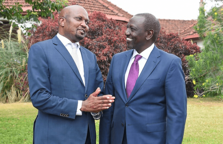 UDA candidate appears headed for a narrow victory in the high-stakes Kiambaa parliamentary by-election UDA is highly associated with DP William Ruto. Phoro: William Ruto/Facebook.