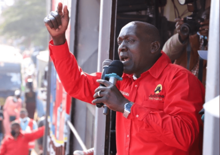 While admitting that the Mt Kenya region has become hostile to Jubilee Party, Kioni said that they intend to win their support systematically.