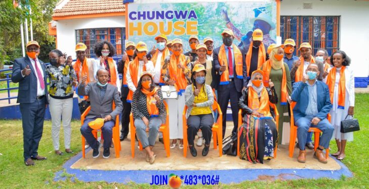 Raila Odinga's ODM party is targeting youths in its membership recruitment drive. The party might have learnt a political lesson from Jubilee, whose failure is being blamed on the lack of fresh energy and ideas from young people. Photo: ODM/Twitter.