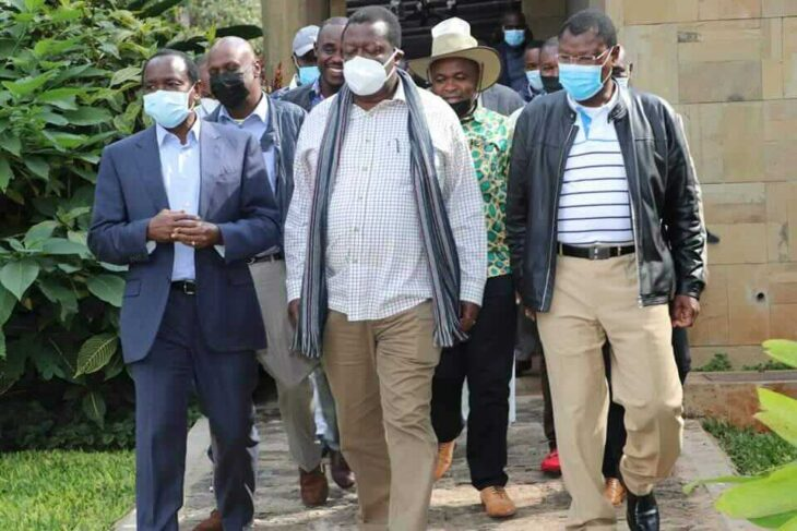 The exit of Musalia Mudavadi's party from the NASA coalition was prompted by an extensive meeting held alongside his two co-principals (Kalonzo Musyoka and Moses Wetangula) on Tuesday, July 20.