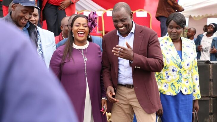 The Laikipia MP Cate Waruguru is not new to DP Ruto's Tanga Tanga camp.