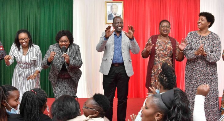 Kiambu Woman Rep Gathgoni Wa Muchomba has received a tough induction after being welcomed into DP Ruto camp. Photo: William Ruto/Twitter