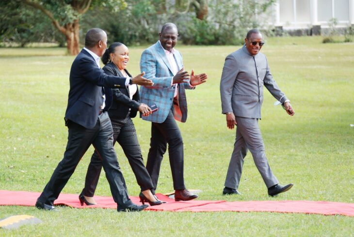 Kimilili Member of Parliament Didmus Barasa has slammed Raila Odinga for copying the deputy president's campaign message.