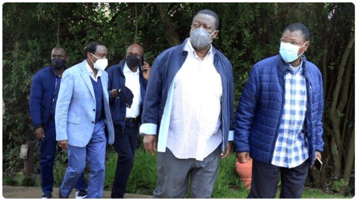 Mudavadi, Kalonzo, Wetangula kill plans of reuniting with Raila Odinga for 2022