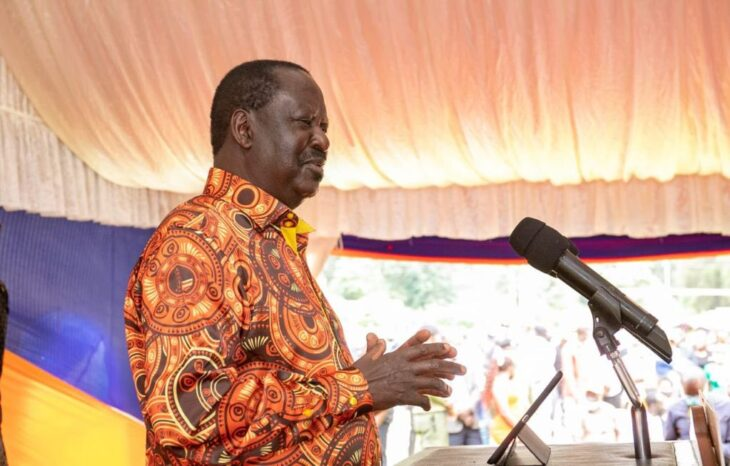 ODM leader Raila Odinga has dismissed reports on working with William Ruto ahead of the 2022 Presidential race.