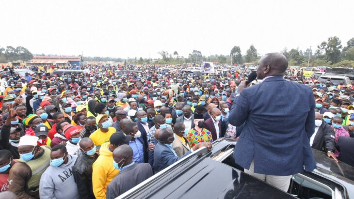 William Ruto promises KSh 34.8 billion hustlers fund if elected president in 2022