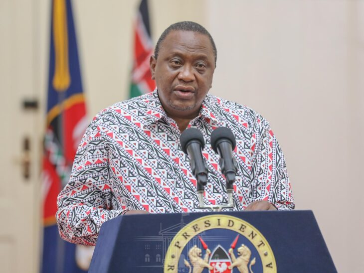Uhuru's love for African print shirts remains unmatched. Photo: State House/Kenya