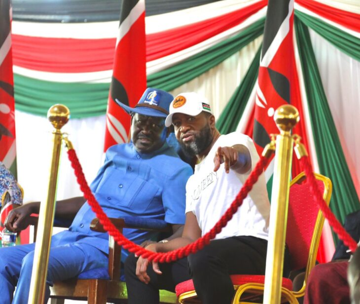 Mombasa Governor Ali Hassan Joho announced that he is dropping his presidential ambitions to support his party leader Raila Odinga.