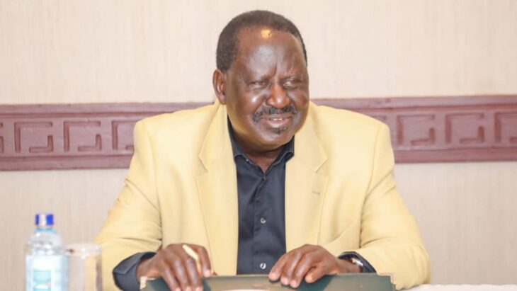 Raila Odinga strongholds register the least number of new voters