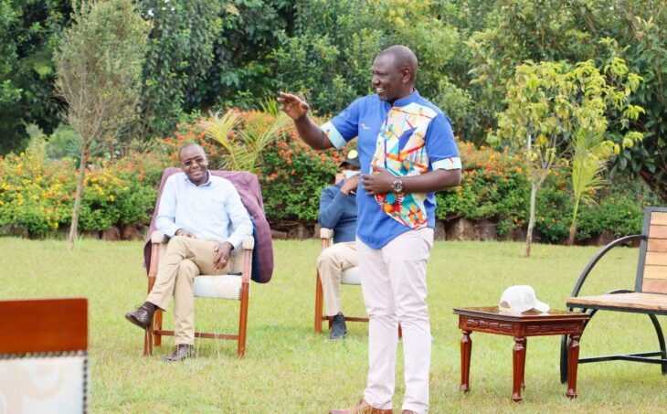 Wiper Party leader Kalonzo Musyoka says he is eager to face Deputy President William Ruto in the 22 Presidential race.