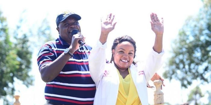 Kirinyaga Woman rep Purity Ngirici's husband Andrew Ngirici has bragged about his immense wealth that can fund campaigns.