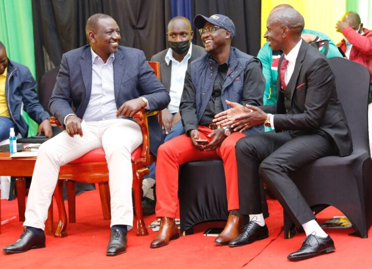 Wilson Sossion dumps Raila for William Ruto as he eyes bigger seat in 2022