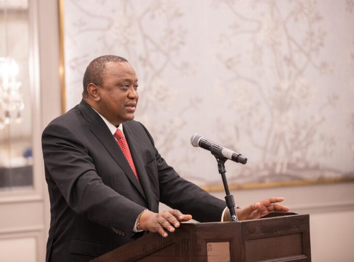Uhuru Kenyatta has made history as the first Kenyan Head of State to meet three sitting US Presidents.