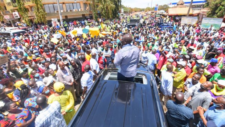 William Ruto claims Uhuru and Raila hate him for supporting hustlers